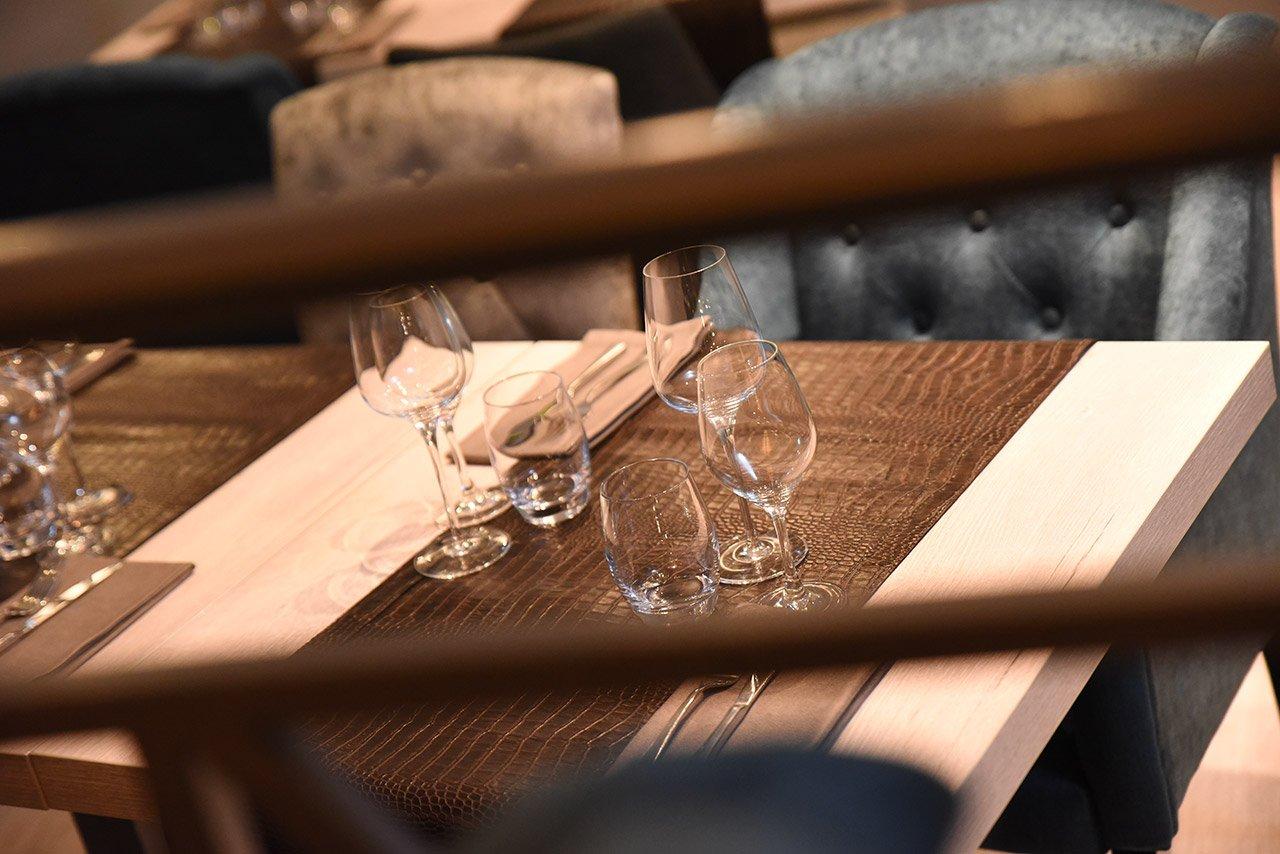 Restaurant Symbiose - Image de verres